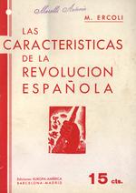 Las características de la revolución española