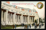 Colonades of the Manufactures Building, Alaska-Yukon-Pacific Exposition, 1909, Seattle, Wash