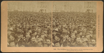 The surging sea of humanity at the opening of the Columbian Exposition