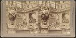 A rare bit of the beautiful German Exhibit, Liberal Arts Building, Columbian Exposition