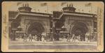 Golden Gate of the Transportation Building, World's Fair, Chicago, U.S.A. =