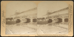 Bridge to the Manufactures Building, World's Fair, Chicago, U.S.A. =