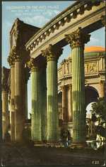 Colonnades on Fine Arts Palace
