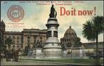 James Lick Statue, city hall park.San Francisco, California