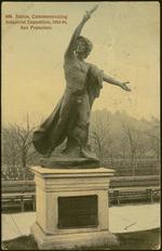 Statue commemorating Industrial Exposition, 1893-94, San Francisco