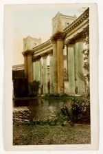 [Columns of the Palace of Fine Arts, San Francisco, Cal.]