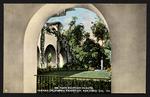 Faun fountain in patio, Panama-California Exposition, San Diego, Cal., 1915