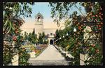 Glimpse of the formal gardens, Panama-California International Exposition, San Diego, Cal
