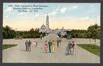 Park approach to West entrance, Panama-California Exposition, San Diego, Cal. 1915