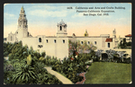 California and Arts and Crafts Building, Panama-California Exposition, San Diego, 1915