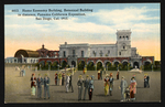 Home Economy Building, Botanical Building in distance, Panama-California Exposition, San Diego, Cal., 1915