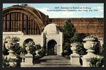 Entrance to Botanical Building, Panama-California Exposition, San Diego, 1915