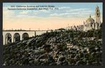 California Building and Cabrillo Bridge, Panama-California Exposition, San Diego, Cal. 1915