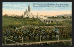 General view of exposition from Rose Garden, Panama-California International Exposition, San Diego, Cal. 1915