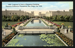 Lagoons in front of Botanical Building, Panama-California Exposition, San Diego, Cal. 1915
