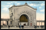 Spreckel's Pipe Organ, largest out-of-doors pipe organ in the world, Panama-California International Exposition, San Diego, Cal
