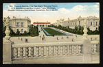 Plaza de Panama from Pipe Organ, Kern and Tulare, U.S. Government and San Joaquin Valley Buildings, Panama-California International Exposition, San Diego, Cal