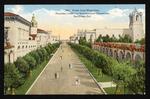 Prado from west gate, Panama-California International Exposition, San Diego, Cal