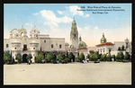West side of Plaza de Panama, Panama-California International Exposition, San Diego, Cal