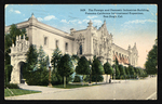 The Foreign and Domestic Industries Building, Panama-California International Exposition, San Diego, Cal