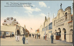 """""""The Isthmus"""" Amusement Street, T. P. Getz famous Mission Play at right"""