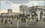 East Side of Plaza de Panama, Foreign Arts Building in Foreground, Home Economy in distance