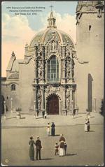 Entrance to California Building