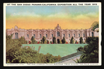 At the San Diego Panama-California Exposition all the year 1915