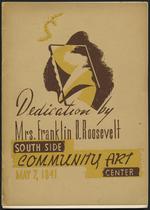 Dedication by Mrs. Franklin D. Roosevelt