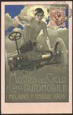 Mostra del Ciclo e dell'Automobile, Milano, 11 Maggio- 1 Giugno 1905