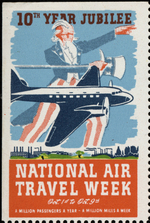 National Air Travel Week, Oct 1st to Oct. 9th