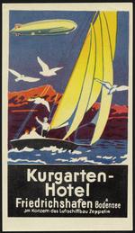Kurgarten-Hotel, Friedrichshafen a. Bodensee, im Konzem des Luftschissbau Zeppelin