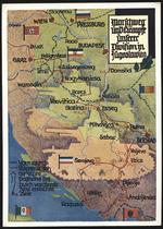 Marschweg und Kämpfe unserer Division in Jugoslawien