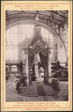 Pavilon Jeho Veličenstva cisaÅ™e a krále = Pavillon Sr. Majestät des Kaisers und Königs